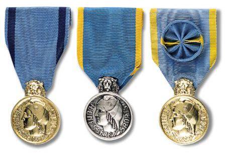 medailles jeunesse sport